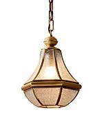 Недорогие -современный люкс одноместный подвесной светильник медные и стеклянные подвесные светильники внутренняя отделка лампы для кухни островной столовой