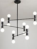 Недорогие -Люстра в скандинавском стиле современная гостиная ресторан подвесные светильники 12 ламп