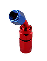 Недорогие -Адаптер с поворотным патрубком an10 для шлангов типа масло / топливо / газ 45/90 градусов