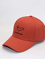 Недорогие -Муж. Классический Бейсболка Хлопок,Цветочный принт Черный Белый Оранжевый