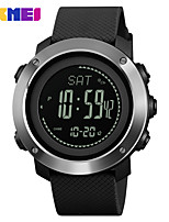 cheap -SKMEI Smartwatch Digital Modern Style Sporty Silicone 30 m Water Resistant / Waterproof Casual Watch Cool Digital Casual Fashion - Black Green