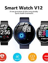 Недорогие -kospet v12 smart watch bt фитнес-трекер поддержка уведомлений / пульсометр / монитор крови / кислорода совместимые со смарт-часами спортивные телефоны ios / android