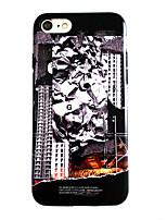 Недорогие -Кейс для Назначение Apple iPhone XS / iPhone XR / iPhone XS Max IMD / Ультратонкий / Матовое Кейс на заднюю панель Мультипликация ТПУ