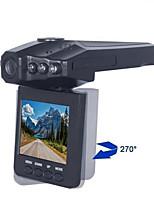 Недорогие -1080p Full HD Автомобильный видеорегистратор 120° Широкий угол 2.5 дюймовый LCD Капюшон с Ночное видение / Циклическая запись Автомобильный рекордер