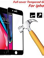 Недорогие -закаленное стекло с полной крышкой для iphone 6 6s 7 8 9 x xs плюс подходящая защитная рама для экрана с закаленным краем черный белый