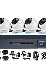 Недорогие -8-канальная система мониторинга и коаксиальное моделирование 1080p 2 миллиона инфракрасного ночного видения HD крытый монитор полусферы