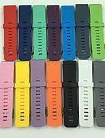 Недорогие -Ремешок для часов для Fitbit Blaze Fitbit Классическая застежка силиконовый Повязка на запястье