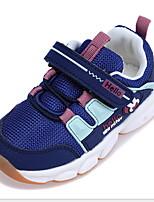 Недорогие -Девочки Удобная обувь Сетка Спортивная обувь Маленькие дети (4-7 лет) Темно-синий / Серый / Розовый Лето