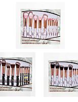 Недорогие -профессиональный Кисти для макияжа 10 шт. Мягкость Новый дизайн Закрытая чашечка Милый удобный Пластик за