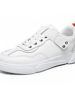 Недорогие -Муж. Комфортная обувь Микроволокно Весна / Осень На каждый день Кеды Нескользкий Черный / Белый / Бежевый