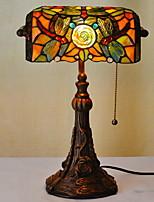 Недорогие -Тиффани Новый дизайн Настольная лампа Назначение Спальня / Столовая Смола 220 Вольт