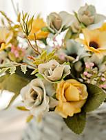 Недорогие -Искусственные Цветы 1 Филиал Классический Деревня Свадебные цветы Розы Букеты на стол