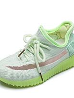 Недорогие -Девочки Удобная обувь Сетка Спортивная обувь Маленькие дети (4-7 лет) Серый / Зеленый / Розовый Лето