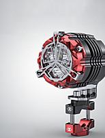 Недорогие -32 мм 30 Вт мотоцикл осветительные приборы фары супер яркий мотокросс вспомогательные стробоскопы