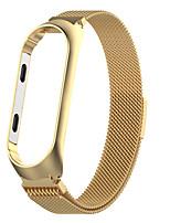 Недорогие -ремешок для часов для mi band 3 / mi band / xiaomi band 4 xiaomi business band ремешок из нержавеющей стали