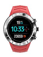 Недорогие -dt № 1 dt08 круглый сенсорный цветной браслет hrv hr и монитор артериального давления 20 дней в режиме ожидания смарт-часы