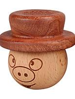 Недорогие -свинья доктор мультфильм деревянный мини-динамик Bluetooth