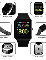 Недорогие -SKMEI Муж. Спортивные часы Цифровой Современный Спортивные силиконовый Черный / Цвет клевера 30 m Армия Защита от влаги Bluetooth Цифровой На открытом воздухе Мода - Черный Зеленый / Один год
