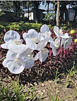 Недорогие -2 искусственные цветы 2 ветви одного настенный подвесной деревенский простой стиль растения настенный цветок