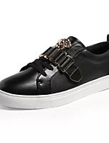 Недорогие -Муж. Комфортная обувь Полиуретан Лето Кеды Черный / Белый / Красный / на открытом воздухе