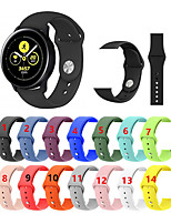 Недорогие -силиконовый спортивный браслет ремешок на запястье для samsung galaxy watch active / часы 42мм / gear sport / gear s2 classic