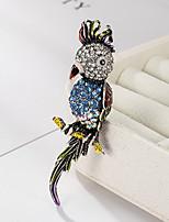 Недорогие -Жен. Броши Птица Животный принт Мультяшная тематика Мода Брошь Бижутерия Разные цвета Назначение Подарок Повседневные