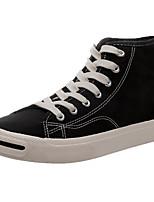 Недорогие -Муж. Комфортная обувь Полотно Лето Кеды Черный / Зеленый