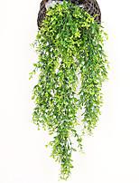 Недорогие -3шт моделирование поддельные цветок ротанга потолок зеленый виноград инженерное украшение ротанга верхний шкаф потолок столовая гостиная украшения цветок зеленое растение
