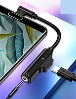 Недорогие -Type-C Адаптер От 1 до 2 ПВХ Адаптер USB-кабеля Назначение Huawei