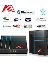 Недорогие -A10 Smart TV Box 4 ГБ 32 ГБ RK3318 Четырехъядерный Iptv Android TV Box YouTube 4K HDR медиа-плеер Google Play