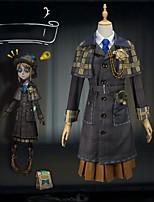 Недорогие -Вдохновлен Идентичность V Косплей Аниме Косплэй костюмы Японский Косплей Костюмы Блузка / Юбки / Платье Назначение Жен.