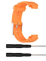 Недорогие -Ремешок для часов для Garmin Forerunner 25 Garmin Спортивный ремешок силиконовый Повязка на запястье