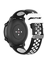 Недорогие -22мм силиконовый браслет ремешок для часов Samsung Galaxy 46mm / gear s3 frontier / gear s3 classic