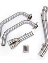 Недорогие -средняя труба мотоцикла полная система выпуска выхлопных газов для yamaha MT3 MT-03 YZF R3 R25 YZF-R3
