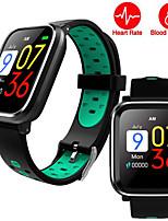 Недорогие -Q58 умные часы браслет браслет фитнес-трекер часы сердечного ритма здоровья спортивный браслет для мужчин мужской женский ремешок