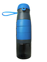 Недорогие -чайник 750 ml Портативные для Путешествия Альпинизм 1 pcs Черный Зеленый Серый Синий