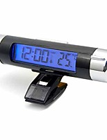 Недорогие -зажим / ручка вентиляционного отверстия автомобиля на термометре с электронными часами