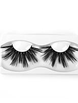 Недорогие -Neitsi одна пара наращивание ресниц накладные ресницы черные синтетические волокна ресницы наращивание глаз макияж dl022