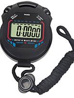 Недорогие -Муж. Спортивные часы Цифровой Черный Нет Секундомер Светящийся Хронометр Цифровой На открытом воздухе Новое поступление - Черный Один год Срок службы батареи