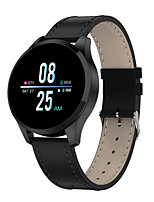 cheap -Smartwatch Digital Modern Style Sporty PU Leather 30 m Water Resistant / Waterproof Heart Rate Monitor Bluetooth Digital Casual Outdoor - Black Golden Black / Silver