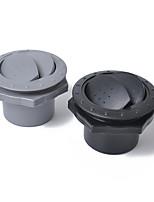 Недорогие -универсальный 60-мм 2,35-дюймовый круглый вентиляционный канал для вентиляционного кондиционера