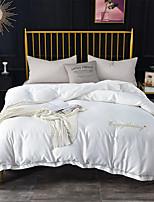 Недорогие -Светло-синий Однотонный Полиэстер / Хлопок Крашенный в пряже 1 шт.Bedding Sets
