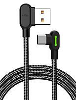 Недорогие -Макдодо 90 градусов локтевой игровой кабель типа C синхронизации данных зарядный шнур 1,2 м