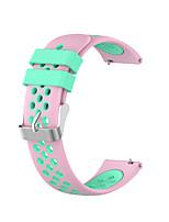 Недорогие -20 мм силиконовый браслет ремешок для Samsung Galaxy Смотреть активные / часы 42 мм / Gear Sport / Gear S2 Classic