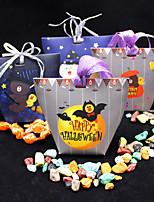 Недорогие -Хэллоуин бумажная коробка конфет праздничная вечеринка украшения подарочная коробка хэллоуин поставок без ленты