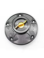 Недорогие -крышка мотоцикла чпу алюминиевый крышка топливного бака украсить защитник