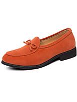 Недорогие -Муж. Комфортная обувь Микроволокно Весна лето Мокасины и Свитер Черный / Зеленый / Оранжевый