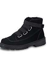 Недорогие -Муж. Армейские ботинки Полиуретан Зима Спортивные Ботинки Черный / Серый / Хаки