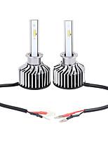 Недорогие -1 пара высокой мощности K8 H3 8 светодиодные фары 6000K дальнего света