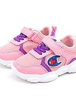 Недорогие -Мальчики Удобная обувь Сетка Спортивная обувь Маленькие дети (4-7 лет) Беговая обувь Белый / Черный / Розовый Лето